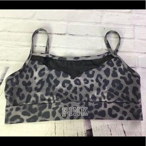 Victoria's Secret PINK Ultimate Bra Cheetah Size L